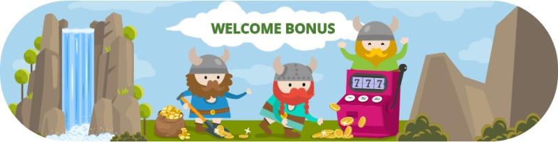 Nordicasino Welcome Bonus